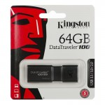 Pendrive Kingston 64GB DT100 USB 3.1 (3.0) Flashdrive
