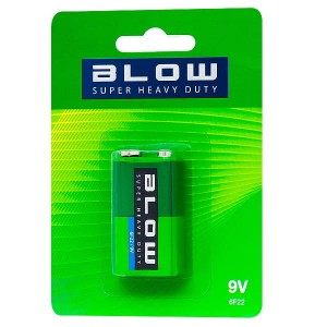 Bateria Blow Super Heavy Duty 9V 6F22