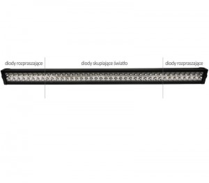 Lampa robocza 80 LED 240W Light Bar 105cm 18500lm
