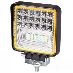 Lampa robocza LED 126W Dual Color Combo 42 SMD