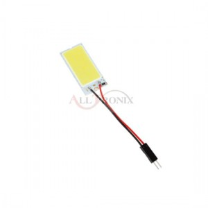 Panel COB 18-chip 6x3 + adaptery W5W C5W
