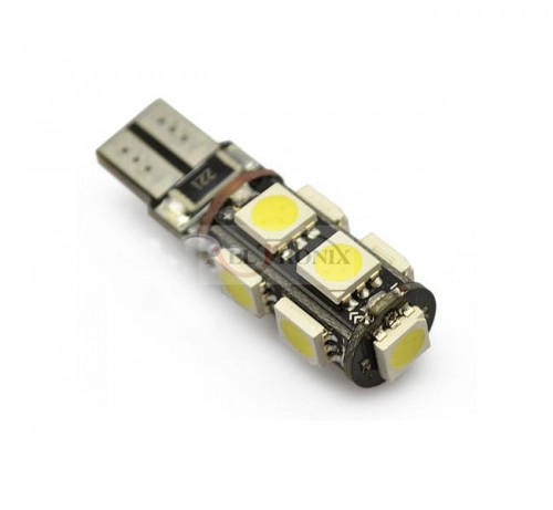 LED W5W 9SMD T10 Canbus