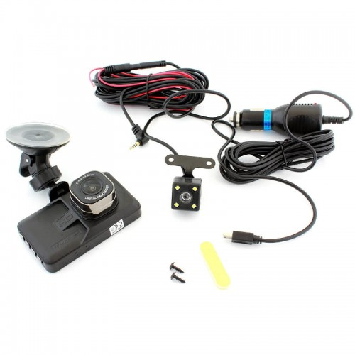 Video Car DVR rejestrator 3w1