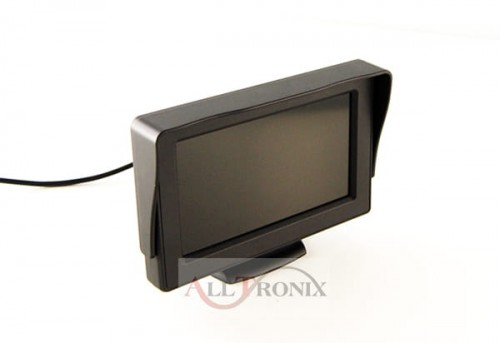 "Monitor LCD 4,3"" 12V 640 x 480 do kamer parkowania"