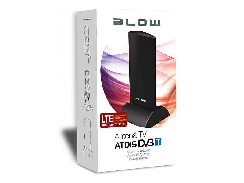 Antena naziemnej TV aktywna DVB-T HDTV LTE 4G