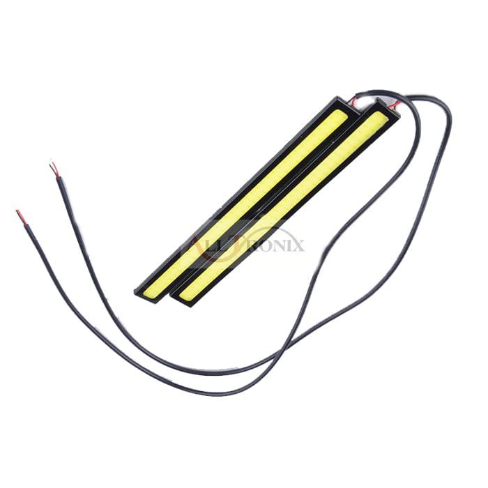 Lampy Dzienne Drl Cob 2x6w 17cm