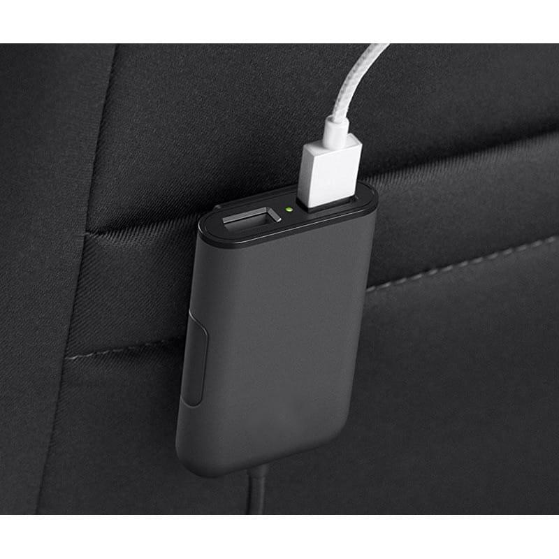 Ładowarka do samochodu 4x USB 1224V przód tył 4,8A